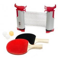 Set ping pong portátil...