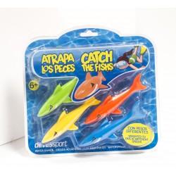 Atrapa los tiburones 4 pcs