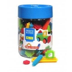 Blocks - 75 pcs  (Bote con...