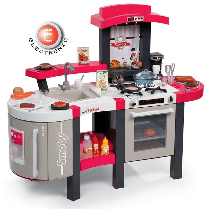 Smoby cocina tefal super chef deluxe - Cocinas chef ...