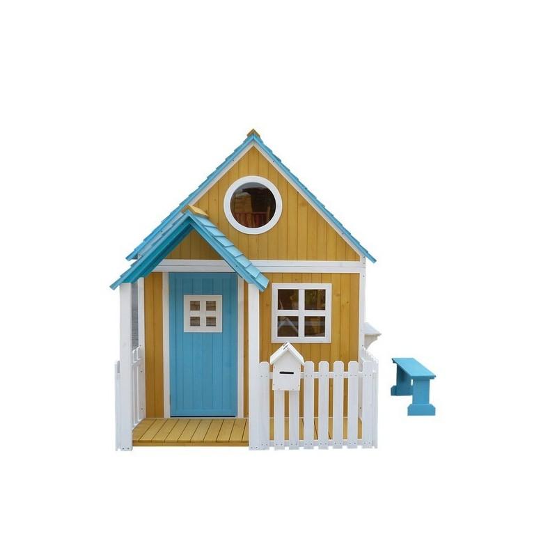 casita de madera para jardin