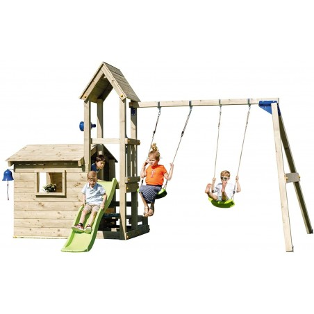 Parque infantil de madera