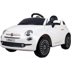 Fiat 500 blanco juguete