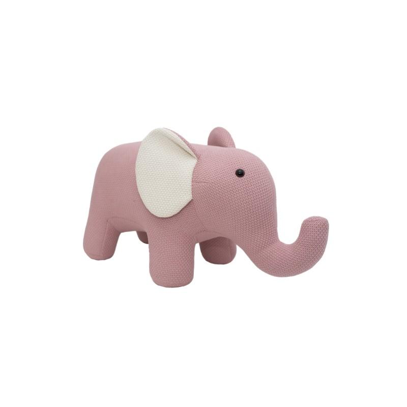 elefante maxi crochetts, peluche hipoalergenico