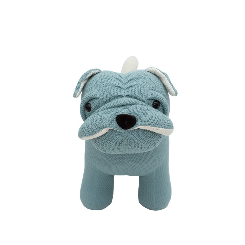 peluche perro crochetts