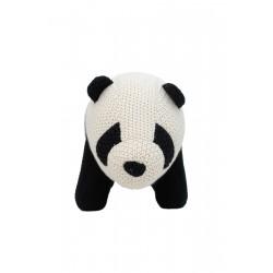 Peluche panda de crochet