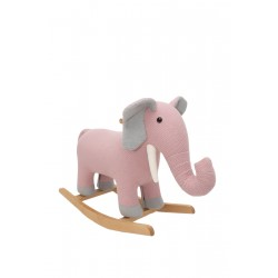 Elefante balancín de crochetts