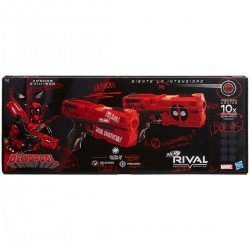 Lanzadores Kronos XVIII-500 Nerf Rival Deadpool Marvel