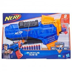 Lanzador Rukkus ICS-8 N-Strike Elite Nerf