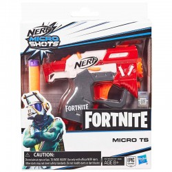 Lanzador Micro TS Micro Shots Fortnite Nerf