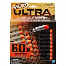 Recarga 60 dardos Lanzador Ultra Nerf