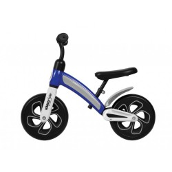 Bicicleta sin pedales azul