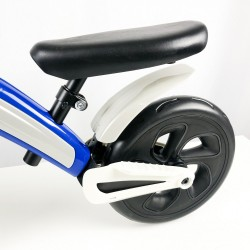 Bicicleta sin pedales azul infantil