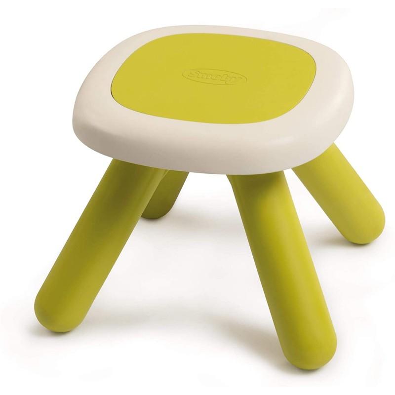 mesa taburete verde de smoby
