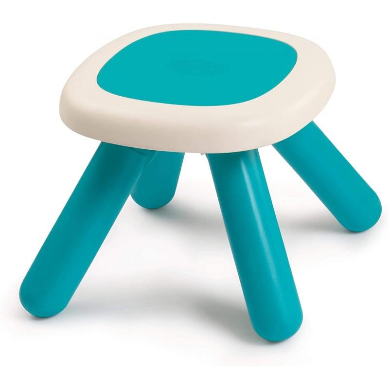mesa taburete azul de smoby