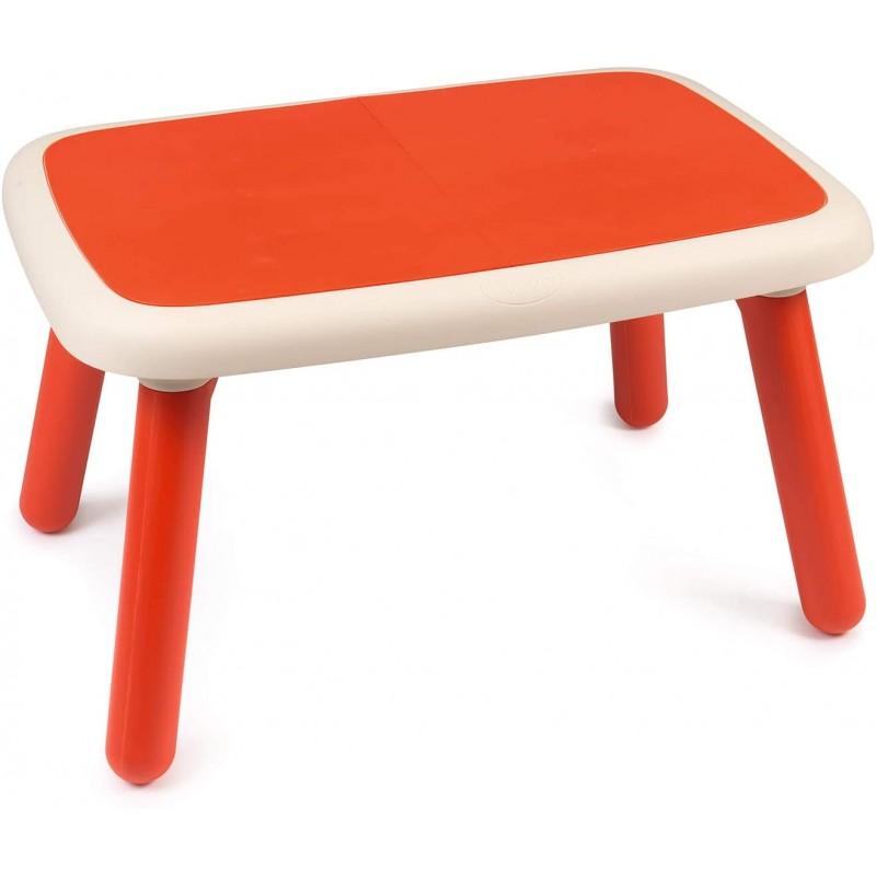 mesa infantil rojo