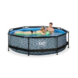 piscina fácil montado