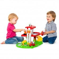 estación de bomberos juguete