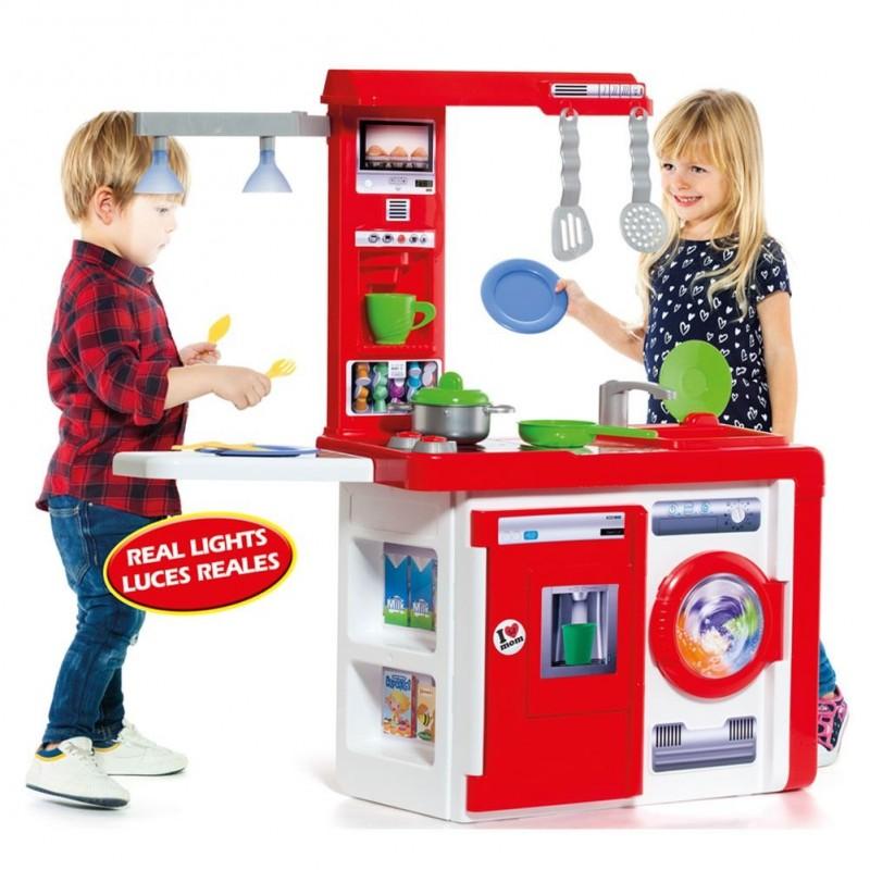 Cocina de juguete Molto Kitchen con lámpara