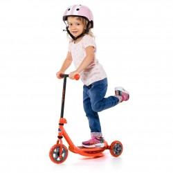scooter rojo juguemus niña
