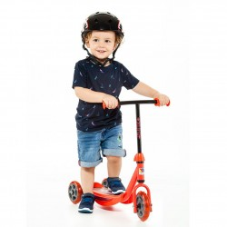 scooter rojo juguemus niño