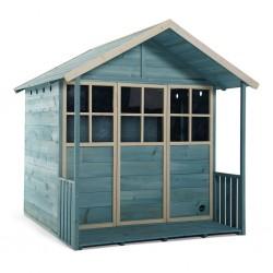 casita de madera grande...