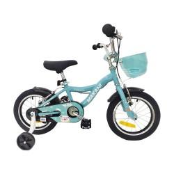 Bicicleta infantil Makani Cyan