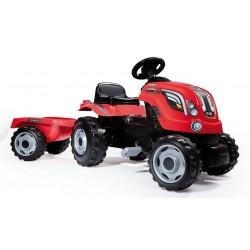 Tractor Farmer XL rojo con...
