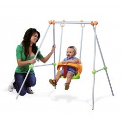 Columpio Metal Baby Swing -...
