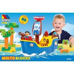 barco pirata  molto y bloques