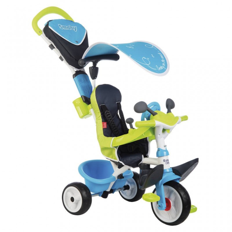 triciclo baby driver smoby juguemus