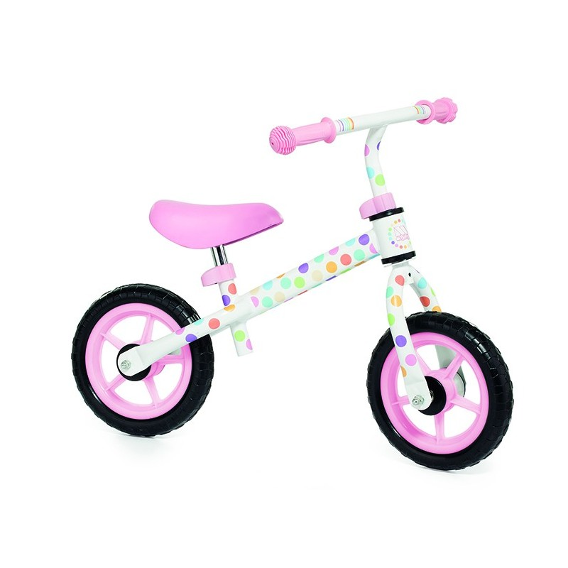 bicicleta sin pedales niña y niño